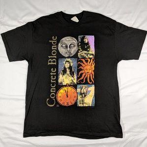 Concrete Blonde 1992 vintage tour t shirt